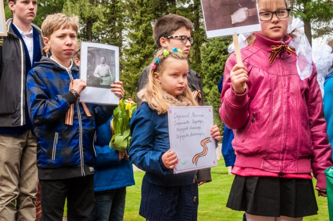 9 Mei 2015: Herdenking Russisch Ereveld