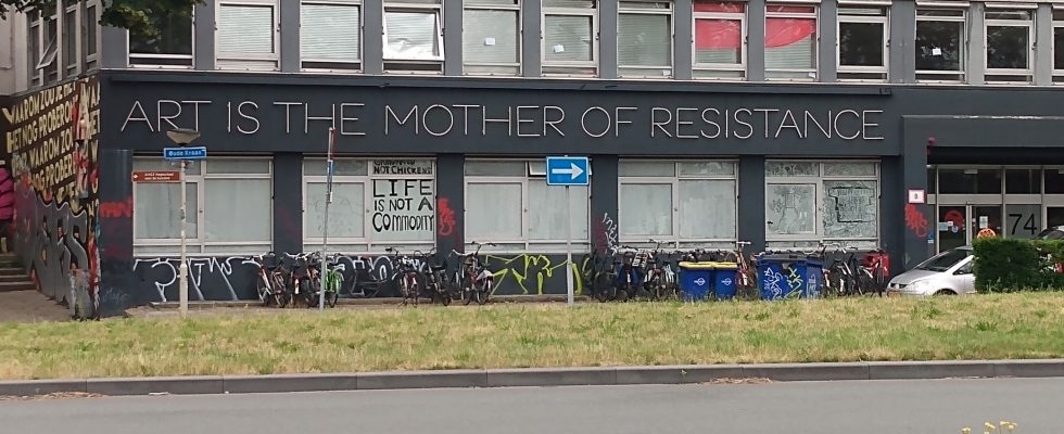 Art is the Mother of Resistance
