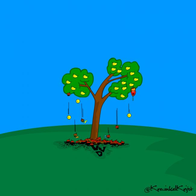 VVDCorruptie-cartoon-KrewinkelKrijst